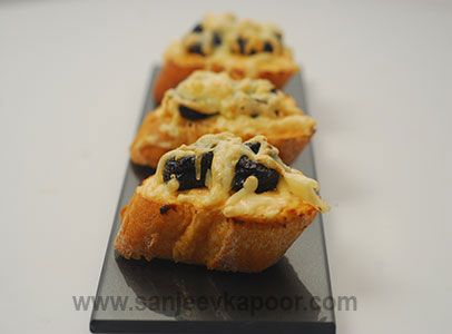 21 best fusion images on pinterest sanjeev kapoor cooking food yogurt and prune bruschetta recipe spicy hung yogurt spread over toasted baguette slices topped with prunes and toasted again forumfinder Images