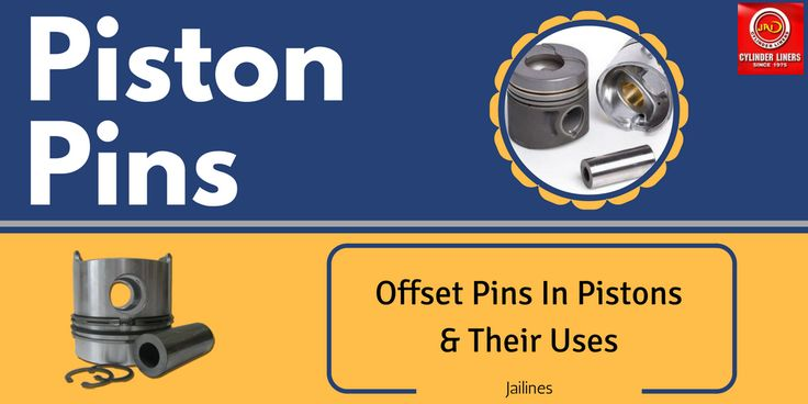 Offset #Pins in #Pistons and Their Uses