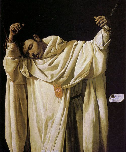 The Martyrdom of Saint Serapion by Francisco Zurbarán (1628).