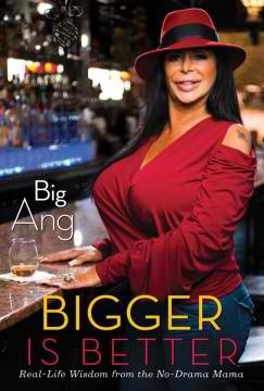 """GO BIG OR GO BIGGER    Everything about Angela """"Big Ang"""" Raiola is larger than life: her lips, her 36JJ breasts, and especially her personality! In a lifestyle guide as genuine and fun as Big Ang herself, the star of VH1's Mob Wives, called the show's """"den mother"""" by the New York Times, serves up the hilarious and poignant wisdom she's learned while running her bar, raising her family, and dating made men. Big Ang has rules to..more on boikeno.com"""