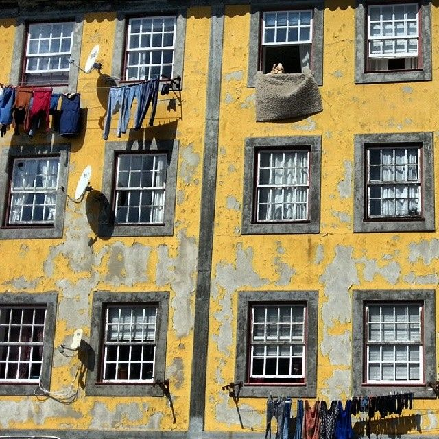 Oporto old building   #oporto #oportocity #vintage #view #building #old #colors #inspiration