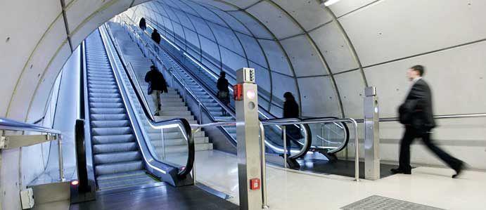 Escaleras mecánicas para todo tipo de edificios