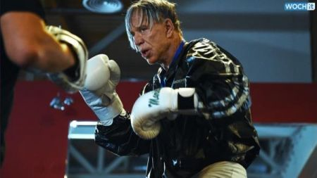 Actor Mickey Rourke, 62, victorious in comeback boxing match in Moscow