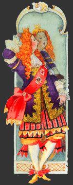 """""""O Fato Novo do Sultão""""- conto de Andersen (na BNP) coligido por Guerra Junqueiro na sua antologia de Contos para a Infância. Ler na página da BN dedicada a Andersen (Ilustração de Mikhail Fiodorov)"""