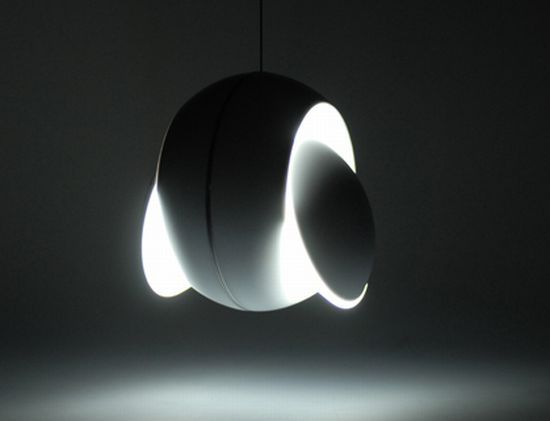 "Nissoyku. A new kind of ""lamp.""  Winner of the Red Dot Award 2011."