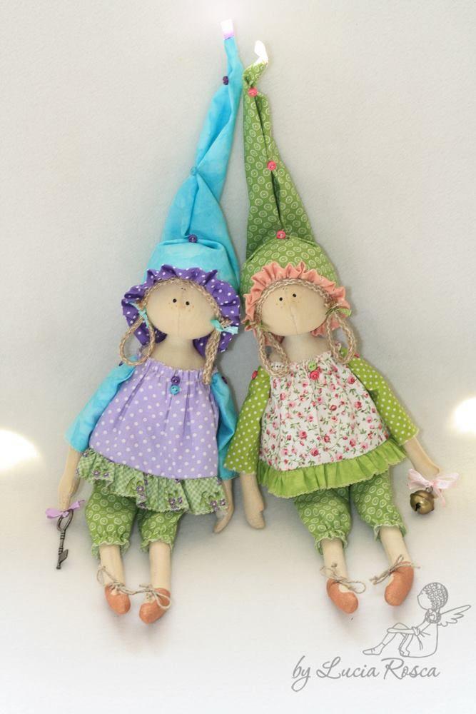 Авторские куклы Лучии Рошко