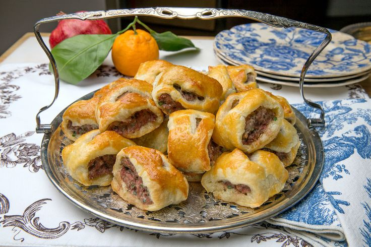 In Britain, sausage rolls make an appearance on Christmas Eve, on Christmas Day or on Dec. 26, Boxing Day.