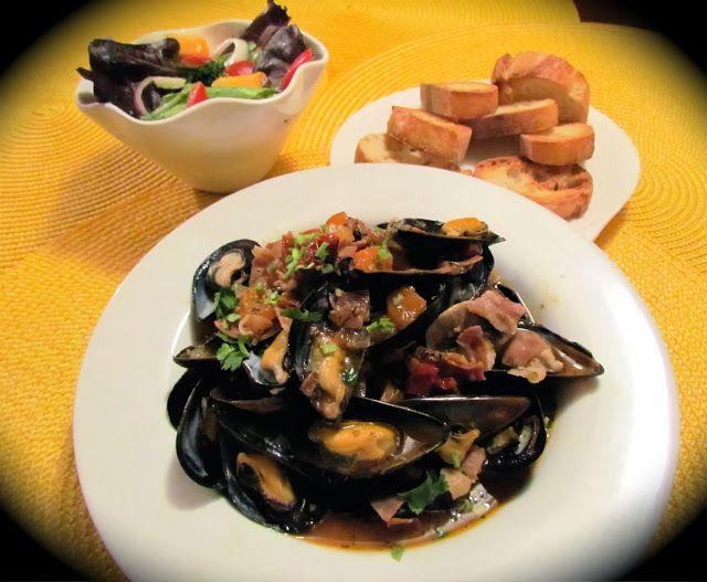 La cuisine de Messidor: Moules à l'italienne