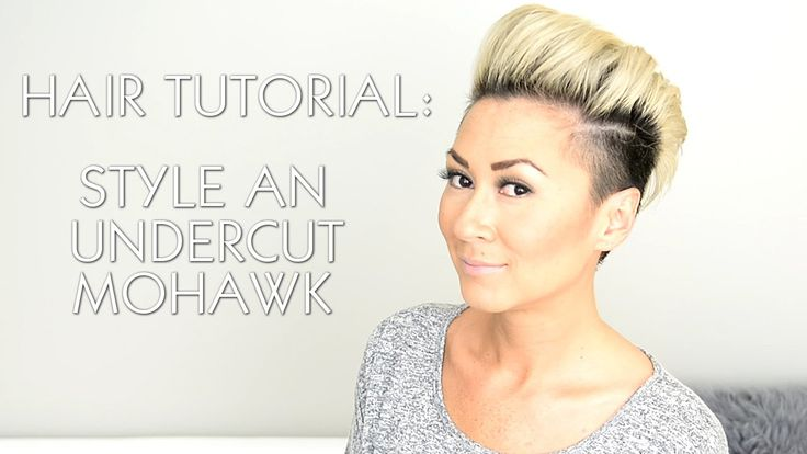 How to style an undercut faux hawk like Rihanna, Miley Cyrus and P!nk/Pink. Shaved pixie cut.