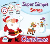 Super Simple Songs - Christmas CD; recently discovered this, and now my kinders are doing 2 of the songs for our winter concert.  what a life saver!