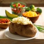 Four delicious microwave recipes and step-by-step Videos! Classic Baked Potatoes, Basic Mashed Potatoes, Microwave Roasted Potatoes, and Microwave Potato Casserole.