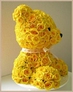 Ositos bonitos, Mascotas florales.