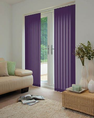 Cheapest Blinds UK | Purple Vertical Blinds