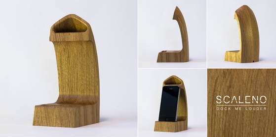 #Scaleno #rovere #Durmast the new #natural #iPhone #docking station