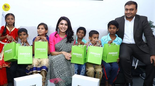 #Samantha Participated In A Social Initiative Taken Up By Phonak Samantha #SamanthaHot