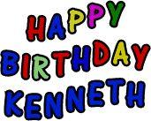 happy birthday kenneth | HAPPY BIRTHDAY GIF IMAGES