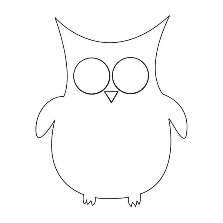 Top 25 ideas about Owl Templates – Owl Template