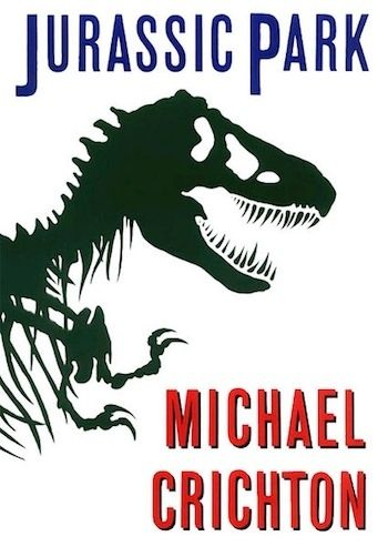 Michael Crichton, Jurassic Park, 1990   The 22 Most Iconic Book Covers Of AllTime