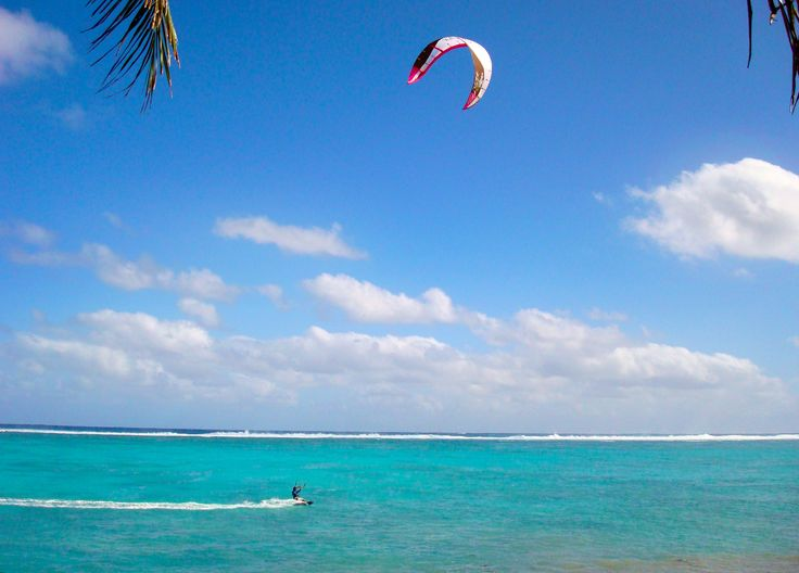 Experience adventure by kite surfing in our stunning blue lagoon! The calm waters and protective reef provide the ideal location for safe watersports.