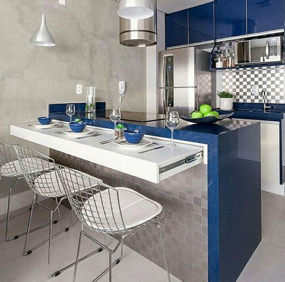 How To Make The Most Of Your Small Kitchen En 2020 Cocinas De