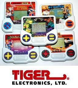 Omnibot-Retro gaming: Tiger handhelds