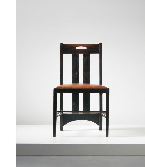 Charles rennie mackintosh low chair designed for the white dining room ingram street tea - Dining room furniture glasgow ...