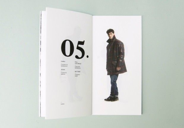 fashion label look book design inspiration - layout