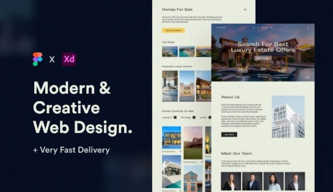 I Will Design Psd Website Or Web Template In 2020 Psd Website Web Template Creative Web Design