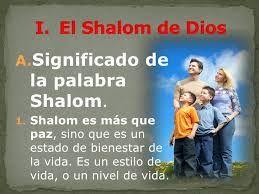 Resultado de imagem para shalom significado