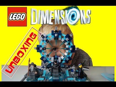 Wii U Lego Dimensions Starter Pack game unboxing | Blue Orange