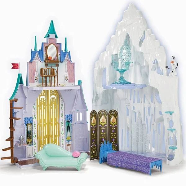 Disney Frozen 2 In 1 Castle And Ice Palace Playset In 2020