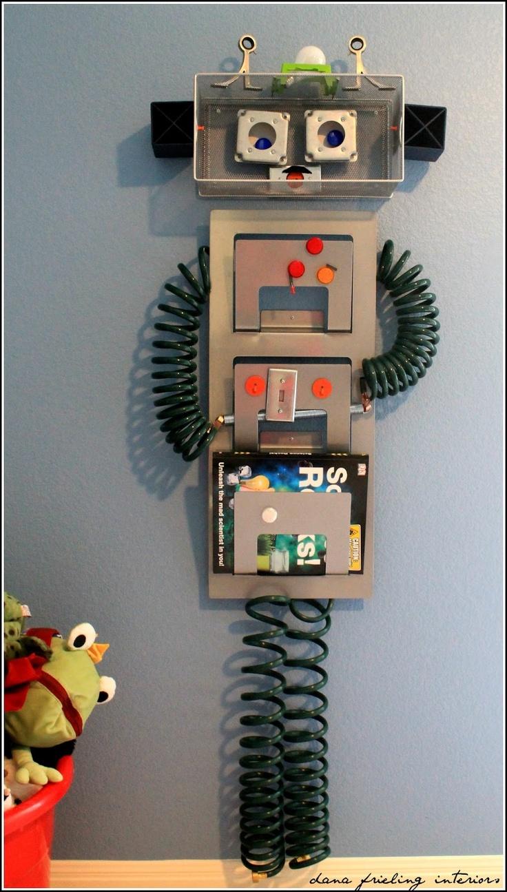 27 best office ideas images on pinterest office ideas for Robot room decor