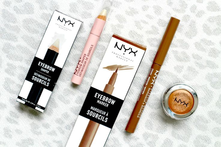 NYX Eyebrow Shaper, Eyebrow Marker and Prismatic Eyeshadow Beauty Blog Review