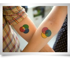 129 best tattoo tatuagem images on pinterest tattoo ideas venn diagram color system couple tattoo matching cross wrist tattoos seeing stars anchors away peter pan and wendy puzzle pieces ccuart Image collections