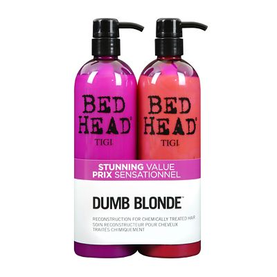TIGI Bed Head Dumb Blonde Shampoo & Reconstructor Tween Duo 2 x 750ml