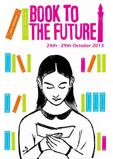 Literary Festival Lino Poster