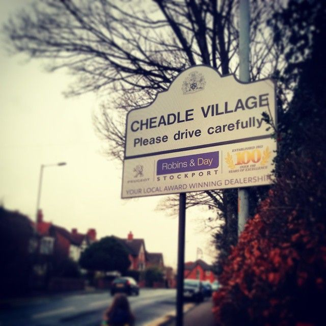 A cold and grey Sunday morning in Cheadle.  #local #cheadle #twitter
