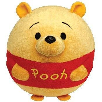 Ty Beanie Ballz Winnie The Pooh Plush, Bear, Large - Ballz, Beanie, Bear, Large, Plush, Pooh, Winnie