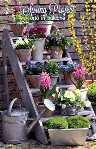Spring Project: Orto in Balcone step by step come farsi l'orto in città! #orto #giardinaggio #piantearomatiche