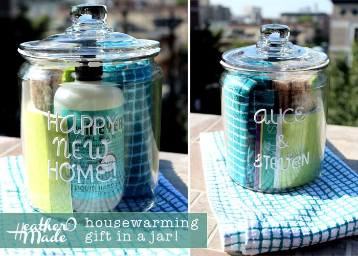Heatheromade A Housewarming Gift In A Jar Simple Diy