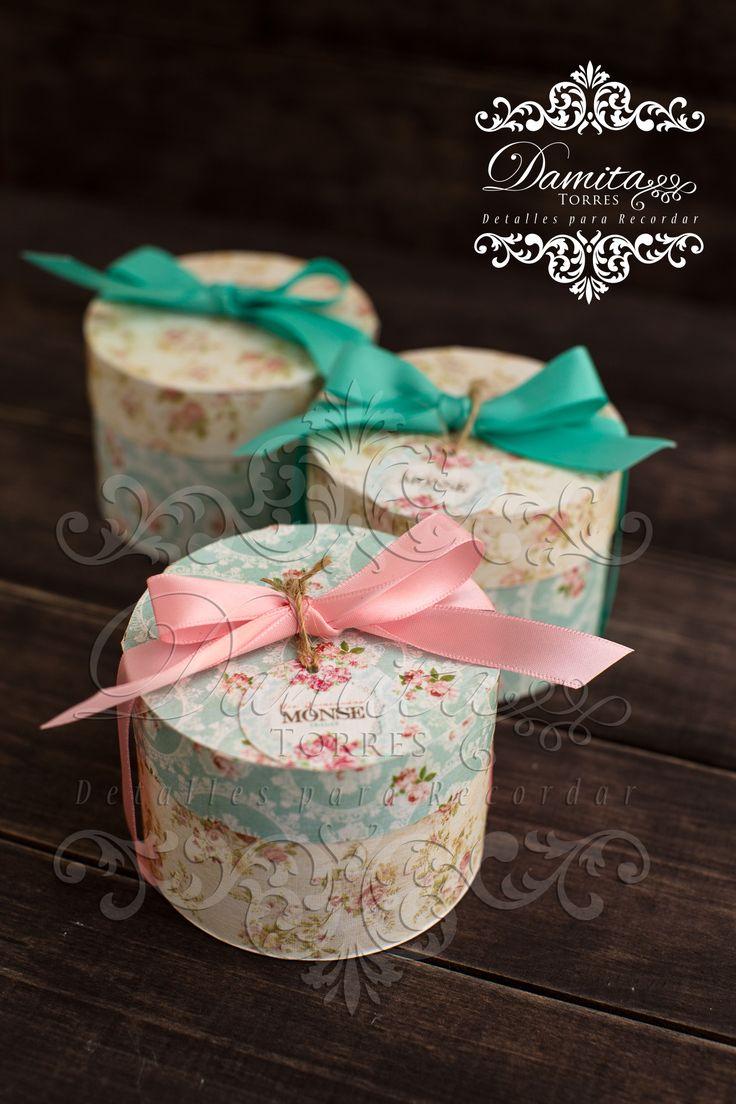 cajitas, favor, vintage, recuerdos, caja flores
