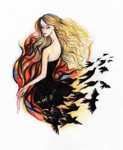 Tris Prior artwork | Divergent Series Pinterest: lahlahgirl