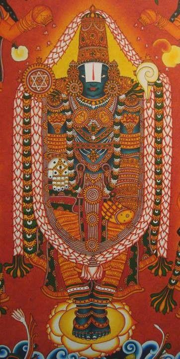 Venkitachalapathy kerala art pinterest for Asha mural painting guruvayur