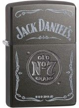 29150 Jack Daniel's, Gray Dusk, Stamped/Laser cheap zippo lighter for sale for…