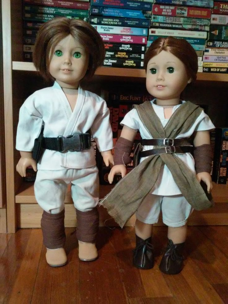 Jinjia Mixed Goods: American Girl Dolls with an Asian Flair: Now with lightsabers (Free Star Wars doll clothes patterns)