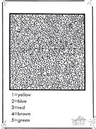 free printable color by number for adults google search