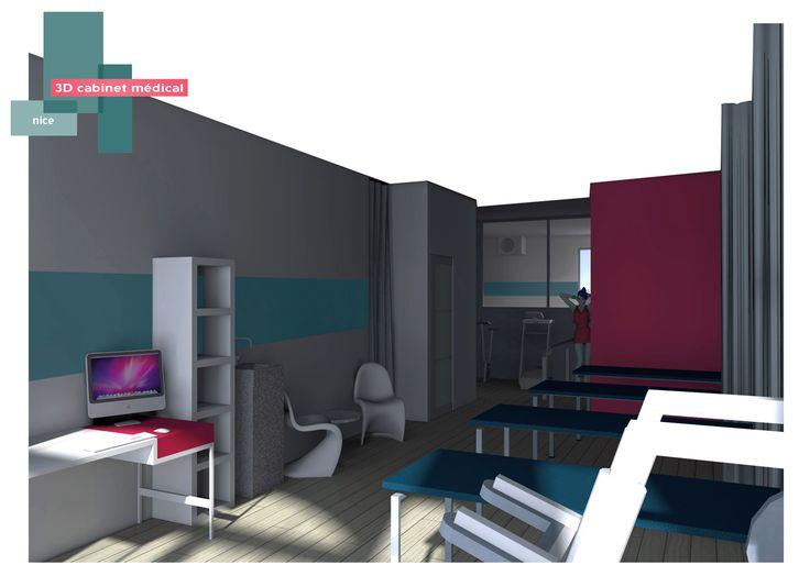 3d cabinet m dical b indoor www b 3d decoration agencement - Decoration cabinet medical ...