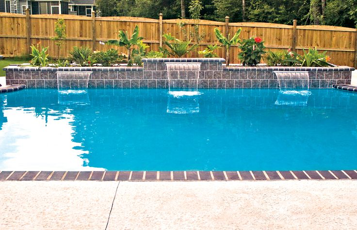 Cascade Waterfall Pool Photos Blue Haven Pool Photos Cascade Waterfall Custom Swimming Pool