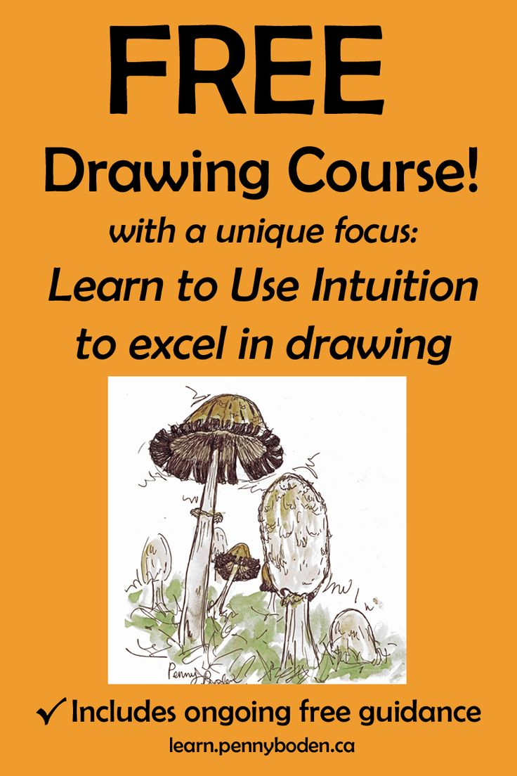"Become the artist you always wanted to be! Join Professional Artist, Penny Boden, on an exciting path toward success. Penny's specialty is guiding students in utilizing their inborn intuition to strengthen art skills and to excel in drawing. This powerful method involves NO formulas or techniques. Confidence soars as you gain full ownership of your new skills. Enroll for FREE in ""Launch yourself toward Remarkable Drawing Skills"" by visiting http://learn.pennyboden.ca/p/simple_sketching"