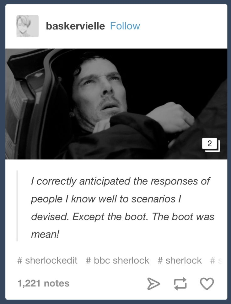 Him trembling in the trunk of Mrs. Hudsons car was the best part of the episode beside the thing about Euros